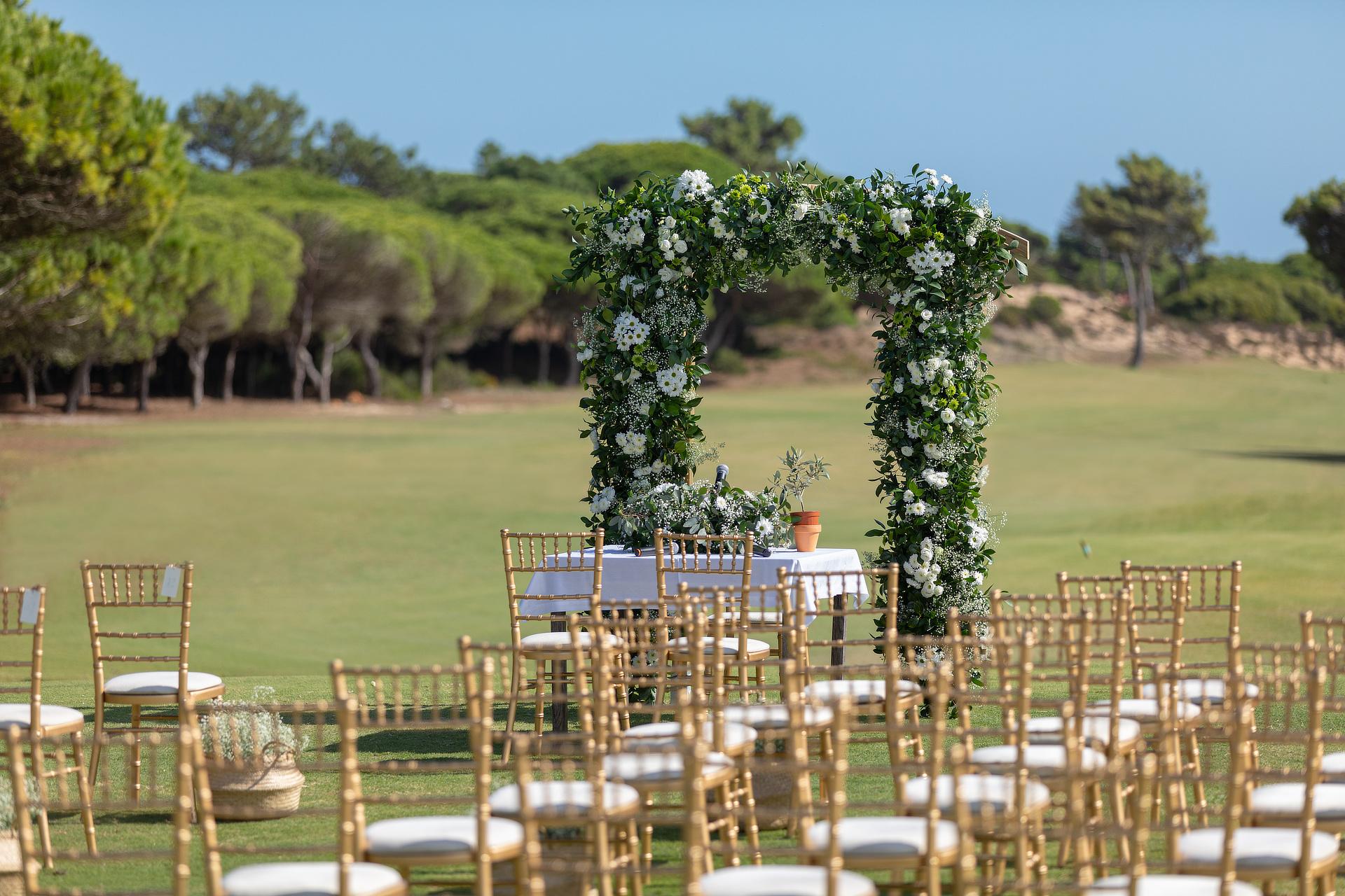 Wedding Ceremony - Golf Course