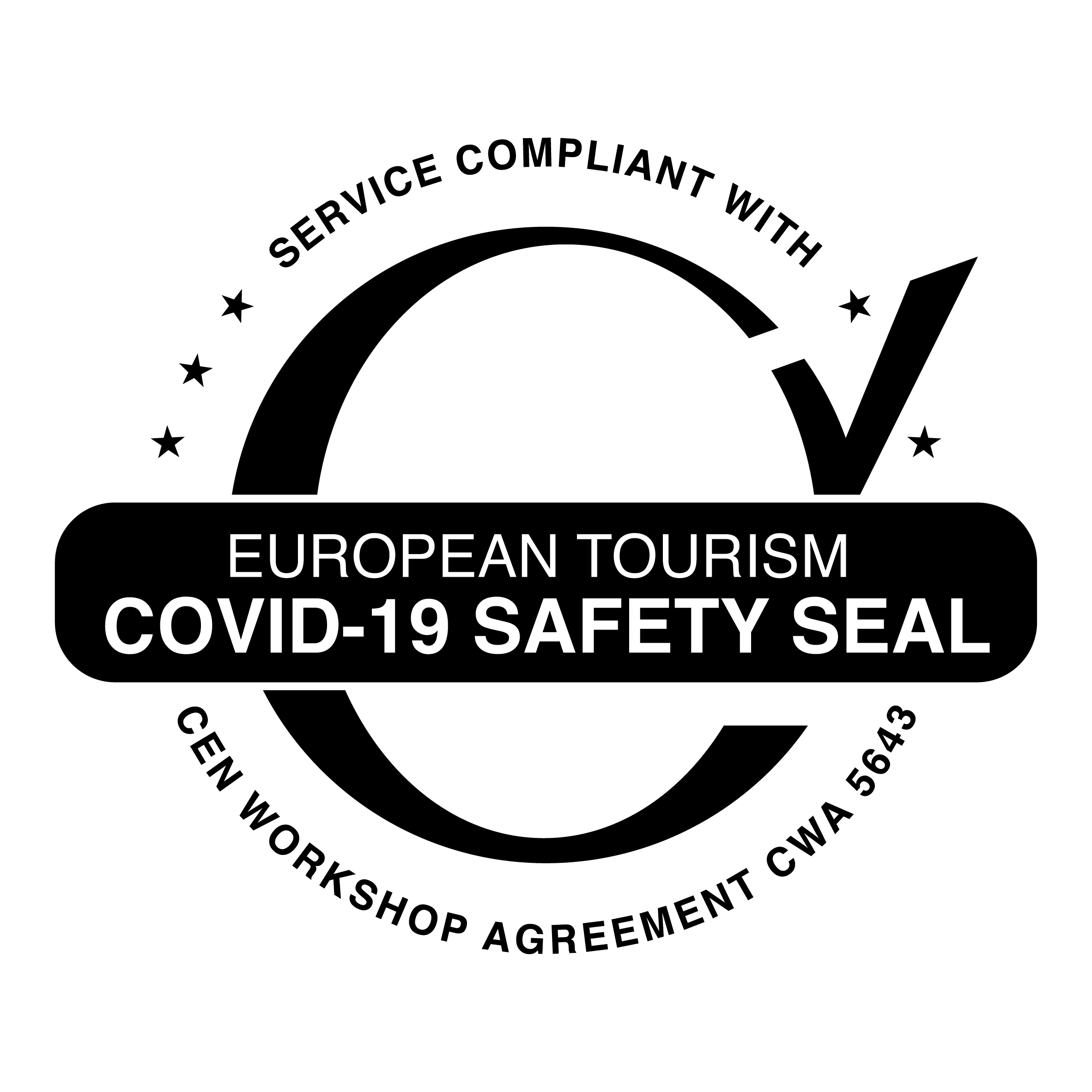 SAFETY Seal The Oitavos Cascais - luxury five star hotel